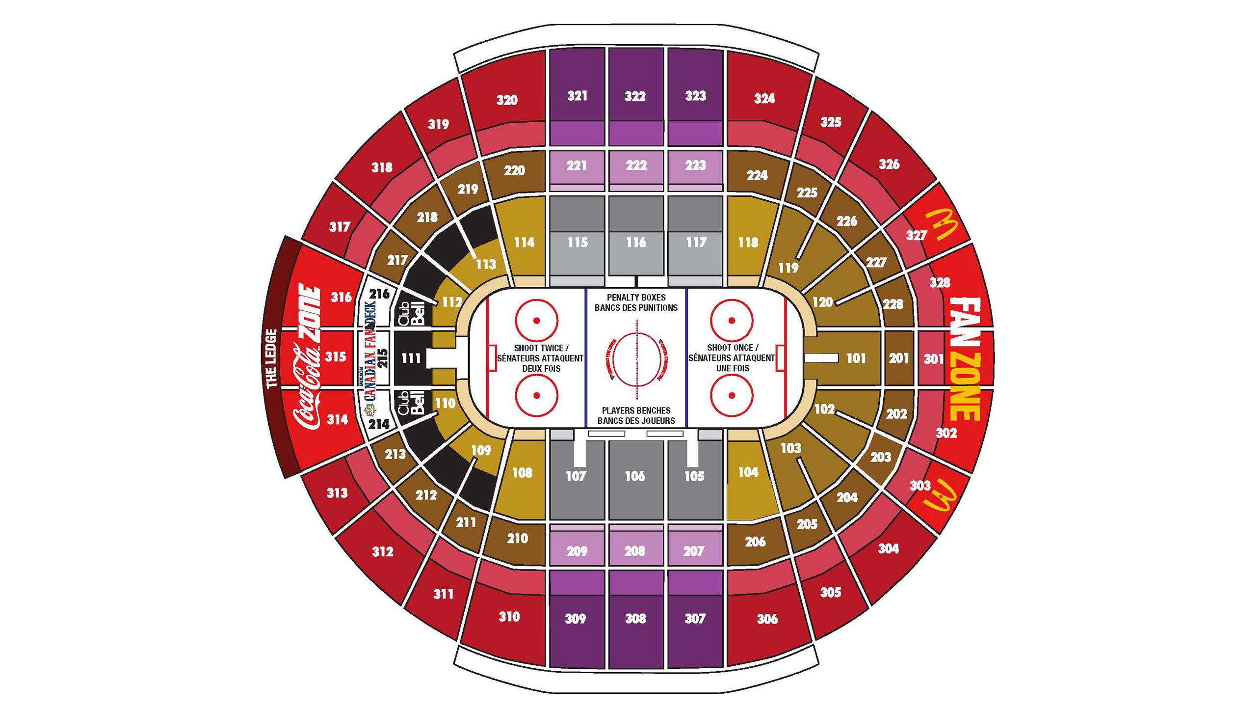 Ottawa Senators Ticket Hub Canadian Tire Centre