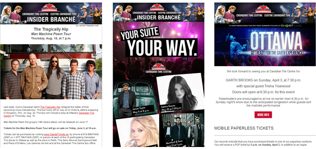 Canadian Tire Preference Centre - Canadian Tire Centre