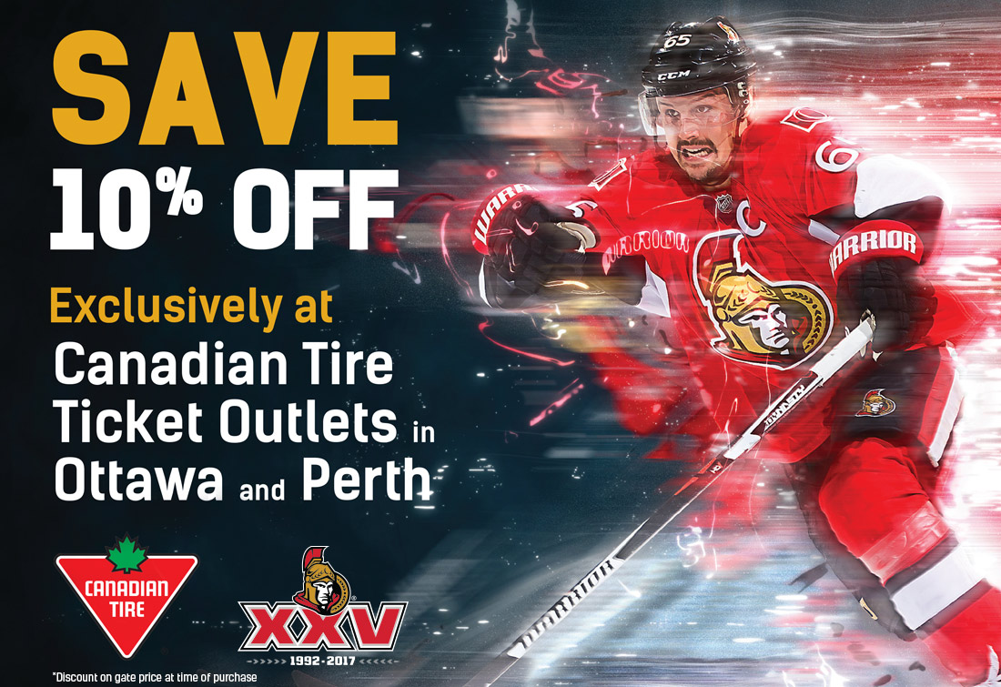 Canadian Tire Ticket Offer